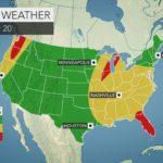 East Coast storm to strike during peak of Christmas travel; Northwest ...