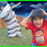 How Do Tornadoes Form???    Educational Video for kids with Ryan ToysReview