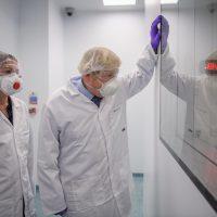 Boris Johnson 'put politics above public health' by visiting vaccine p...