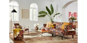 Joybird Partners with Lifestyle Brand Bari J to Create New Floral Coll...